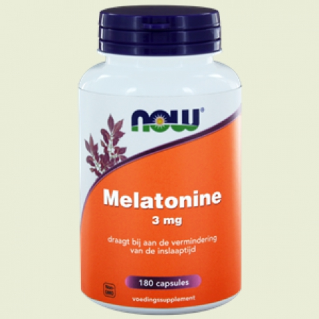 Melatonin 3mg capsules NOW