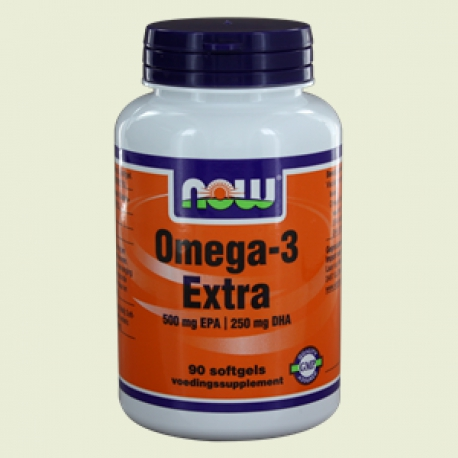Omega-3 Extra 500 mg EPA 250 mg 90softgels NOW