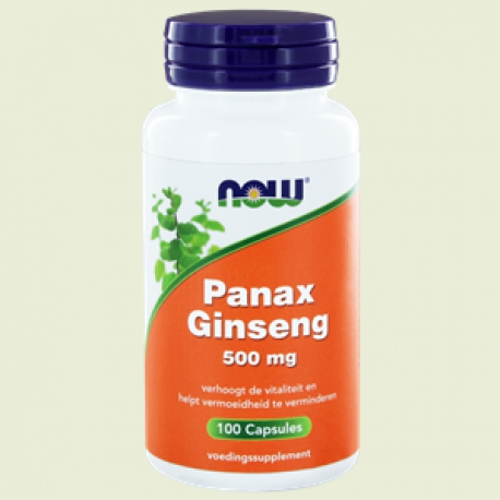 Panax ginseng 520mg 100 capsules L'NOW