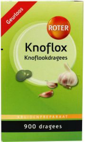 Knoflox 900 dragees Roter