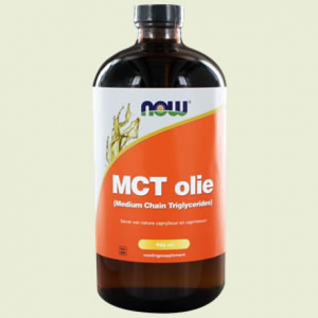 MCT (Medium Chain Triglycerides) olie 946ml NOW