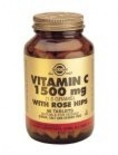 Vit C 1500mg with rose hips Solgar