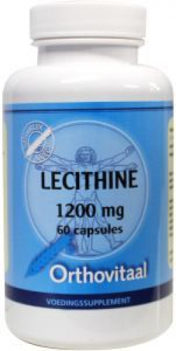 Lécithine 1200mg 60 capsules Orthovitaal