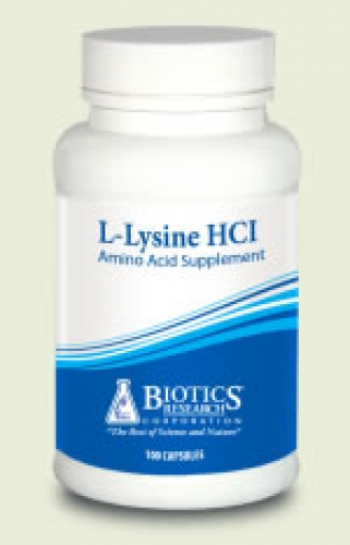 L-lysine 100 tabletten Biotics