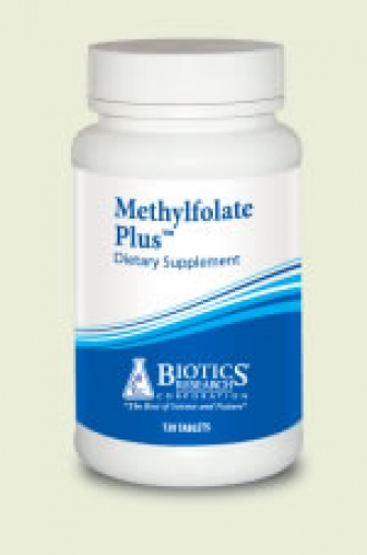 Methylfolat Plus 400mg 120 Tabletten Biotics