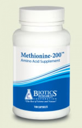Methionine 200mcg 100caps biotics