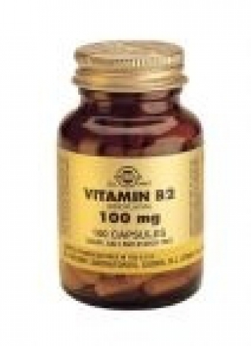 Vitamin B-2100 100 mg vegetable capsules Solgar