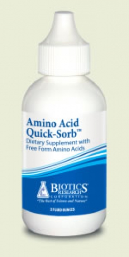 Amino quick sorb 59.2ml Biotics