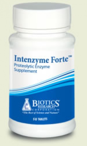 Intenzyme forte 100 tablets biotics research
