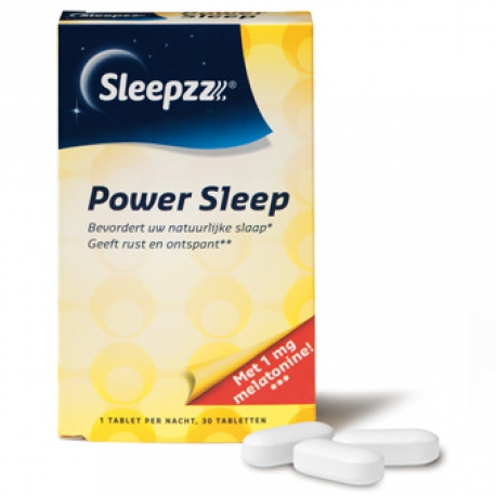Power sleep 0.29 mg 30 tabletten Sleepzz