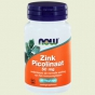 Zinc picolinate 50mg 60 capsules NOW