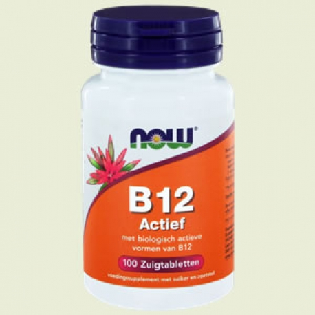 Vitamin B-12 active 100 tablets NOW