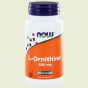L Ornithine 500mg 60 capsules NOW