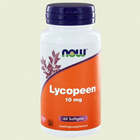 Lycopene 10mg 60 softgels NOW