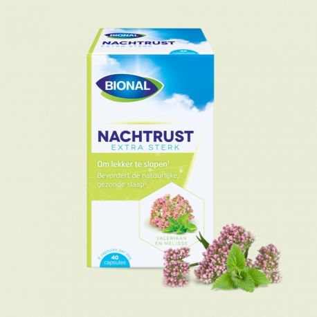 Nachtrust extra sterk 0,1 mg melatonine Bional