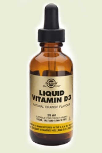Liquid Vitamin D-3 druppels 59ml Solgar