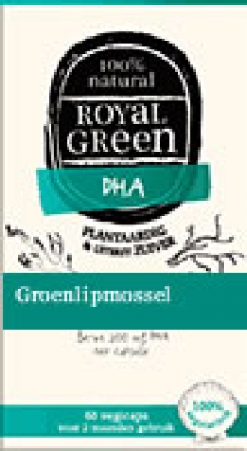 Groenlipmossel 60vegicaps complexes Royal Green