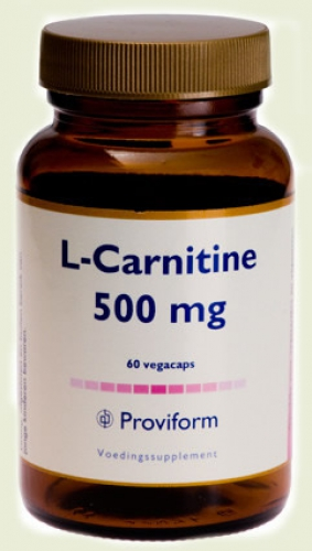 L-carnitine 500mg 60 vegicaps proviform