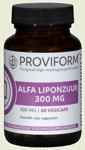 L'acide lipoïque Alpha 300mg proviform
