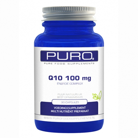 Supreme Q10 100mg 30 or 90 capsules Puro