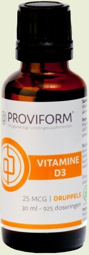 Vitamin D3 25mcg drops Proviform