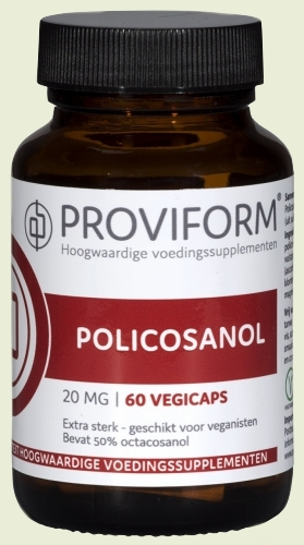 Policosanol 20mg 60 vegicaps proviform