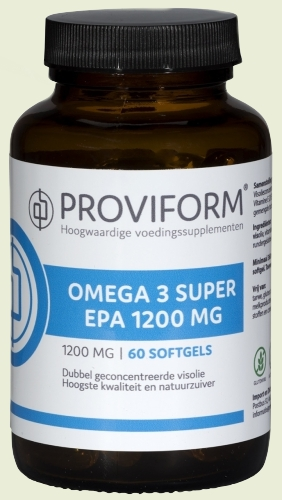 Omega 3 1200mg super proviform epa