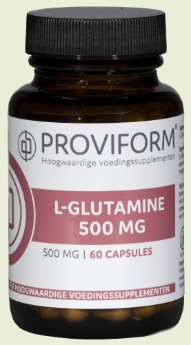 L-glutamine 500mg 100 capsules proviform