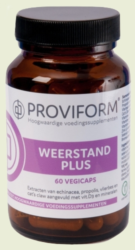 Resistance plus 60 vegicaps Proviform