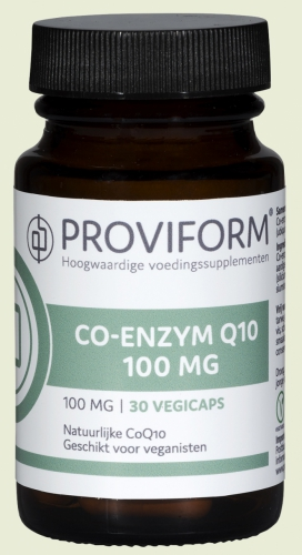 Co Q10 100mg vegi caps Proviform