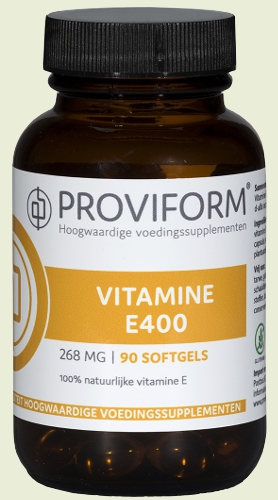 Vitamin e400 - 268mg 90 softgels Proviform