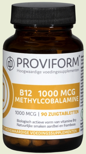 Methyl B-12 1000mcg 100 comprimés Proviform