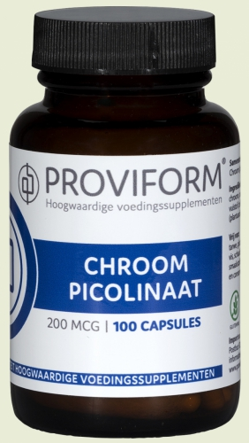 Chromium Picolinate 200mcg 100 tablets proviform