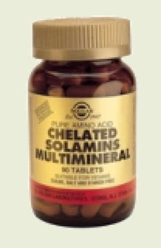 Chelated Solamins multimineral Solgar
