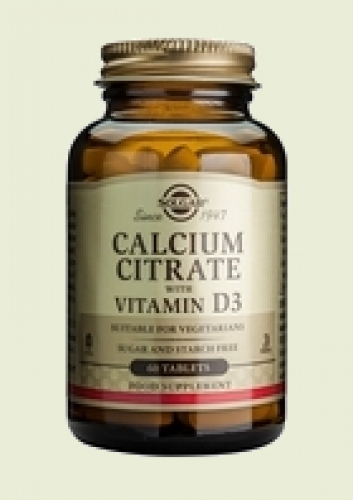 Calcium citrate with Vit D3 Solgar