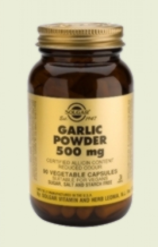 Garlic Powder 500mg 90 capsules Solgar