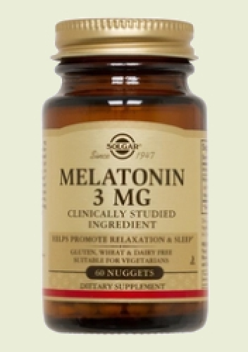 Melatonin 3 mg 60 tablets Solgar