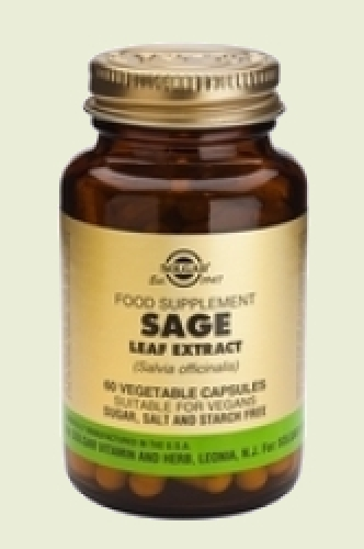 Sage Leaf Extract Sage vegetable capsules 60 Solgar