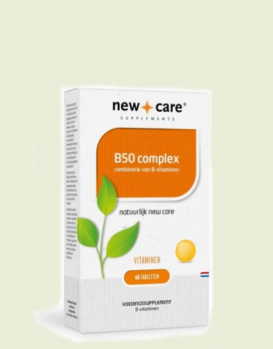 B50 complex 60 tablets New Care