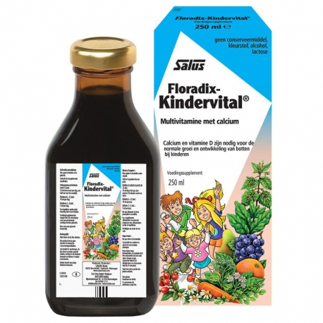 Floradix KINDERVITAL herbal elixir Salus