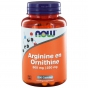Arginine and ornithine 500/250 100 capsules NOW