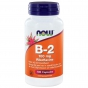 Vitamine B2 100mg 100 capsules NOW