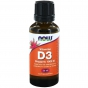 Vitamine D-3 druppels 1000IE 30ml NOW