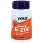 Vitamine E 200IU mixed tocopheryl 100 softgels NOW