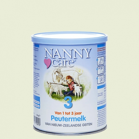 Nannycare 3 toddler milk from goat milk Vitals