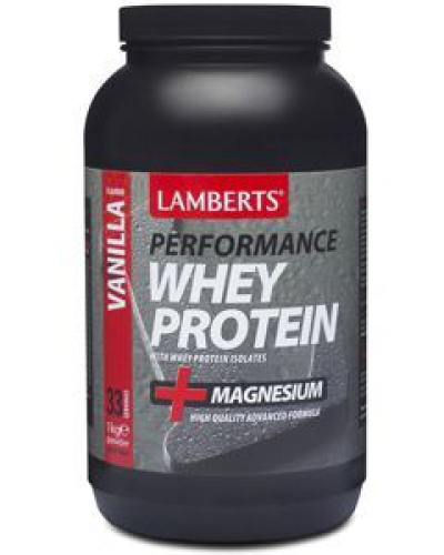 Whey Protein performances Vanilla 1000lbs Lambers