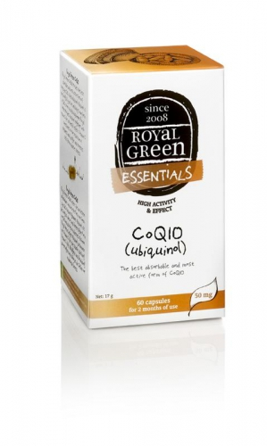 Co Q10 ubiquinol 60 capsules Royal Green