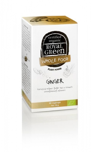 Ginger 60 vegicaps Royal Green