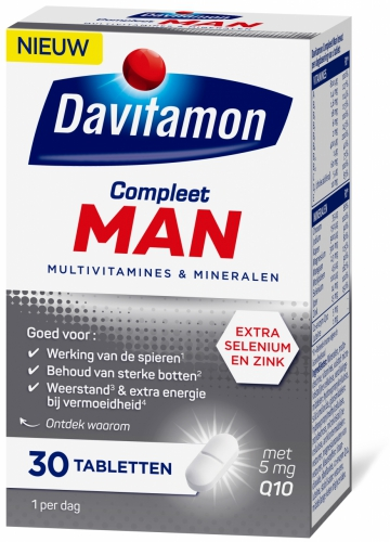 Compleet man 30 tabletten Davitamon