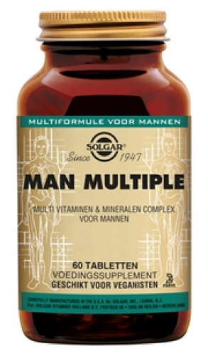MAN multiple 60 tabletten Solgar